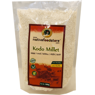 Native Food Kodo Millet / Varagu, 500 gr