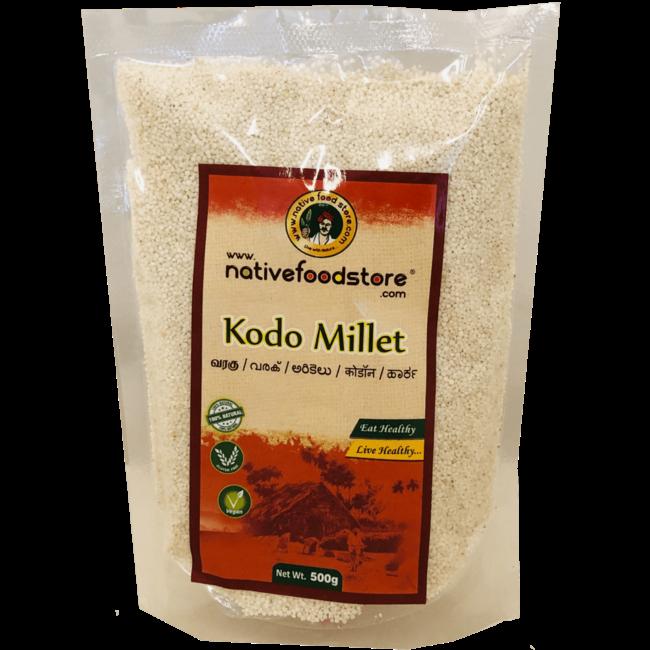 Native Food Kodo Millet / Varagu, 500 gr