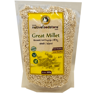 Native Food Great Millet / Cholam (grote gierst), 500 gr