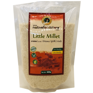 Native Food Little Millet / Samai (kleine gierst), 500 gr
