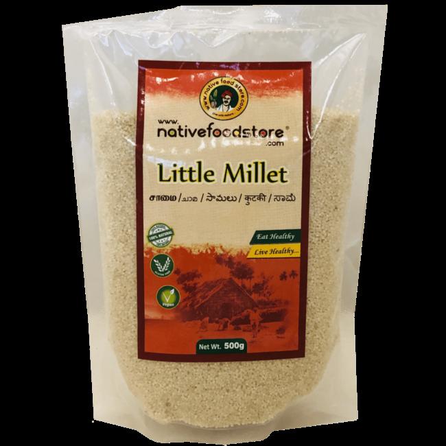 Native Food Little Millet / Samai (kleine gierst), 500 gr