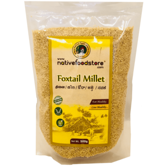 Native Food Foxtail Millet, 500 gr