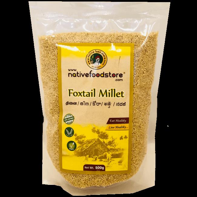 Native Food Foxtail Millet, 500 gr