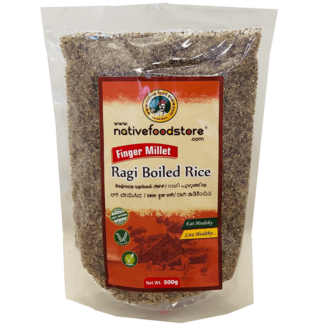 Native Food Ragi Boiled Rice / Finger Millet, 500 gr