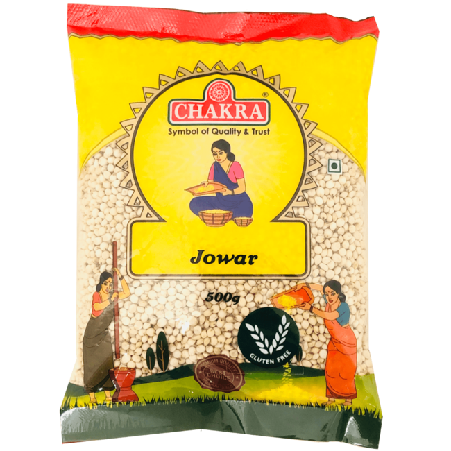 Chakra Jowar / Cholam  / Great Millet (gierst), 500 gr