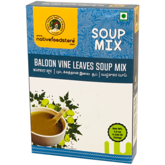 Native Food Soup Mix: Balloon Vine Leaves, 100 gr