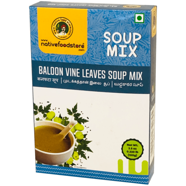 Native Food Soep Mix: Balloon Vine Leaves, 100 gr
