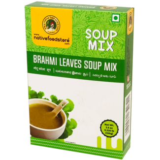 Native Food Soep Mix: Brahmi Leaves (Alzheimerplantje), 100 gr