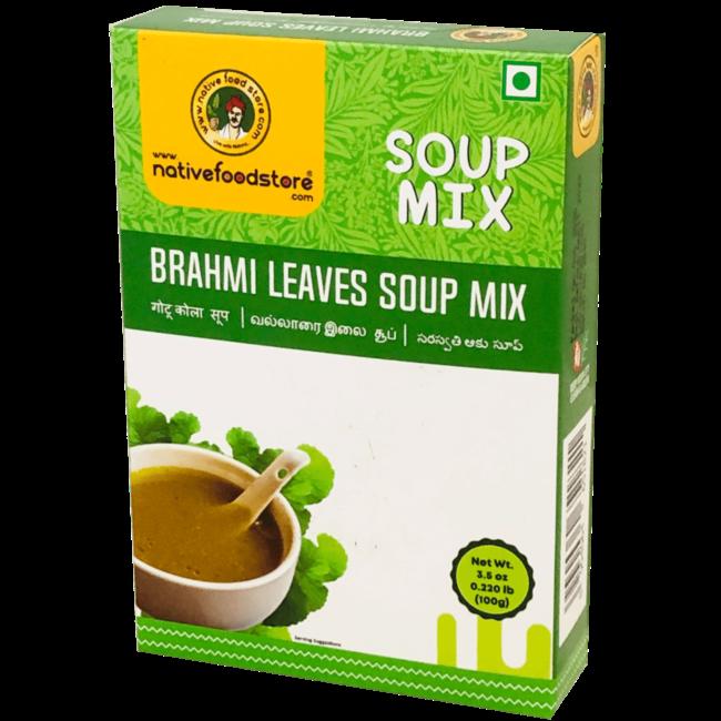 Native Food Soep Mix: Brahmi Leaves (Alzheimerplantje), 100 gr