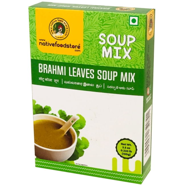Native Food Soup Mix: Brahmi Leaves, 100 gr