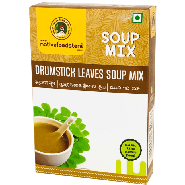 Native Food Soup Mix: Drumstick Leaves, 100 gr