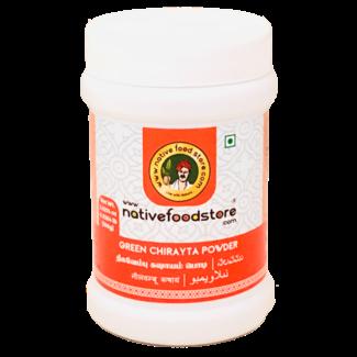 Native Food Green Chirayta Powder, 100 gr