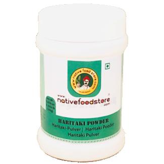 Native Food Haritaki Powder, 100 gr
