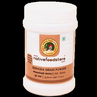 Native Food Bermuda Grass Powder, 100 gr
