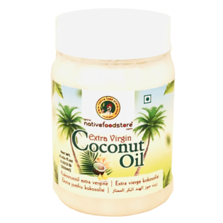 Native Food Extra Virgin Coconut Oil, 250 ml