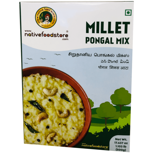Native Food Millet Pongal Mix - 500 gr (Breakfast Dish)