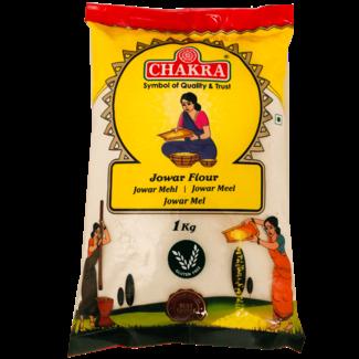 Chakra Jowar Flour (gierstmeel), 1 kg