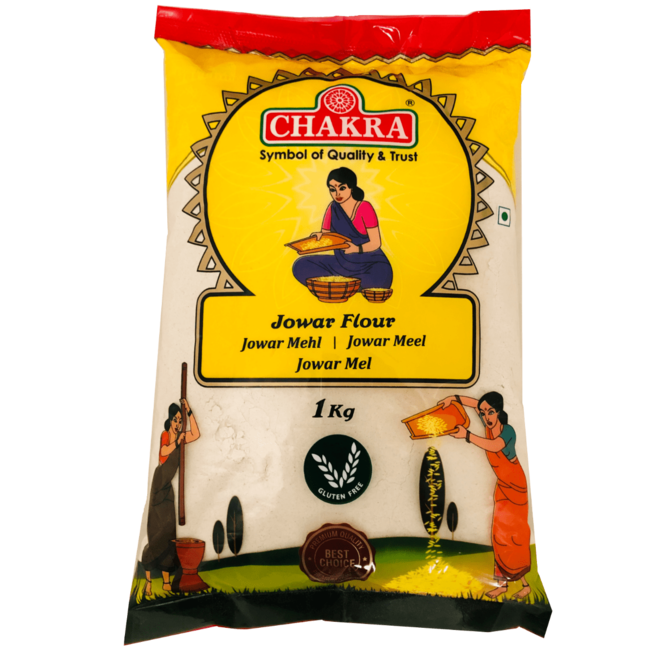 Chakra Jowar Flour, 1 kg