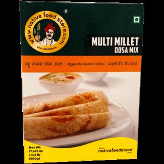 Native Food Multi Millet Dosa Mix, 500 gr