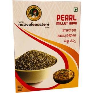 Native Food Pearl Millet Rava, 500 gr