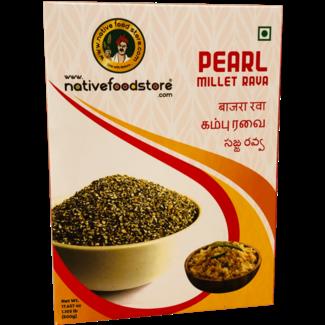 Native Food Pearl Millet Rava (griesmeel) - 500 gr