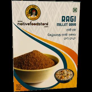 Native Food Ragi Millet Rava, 500 gr