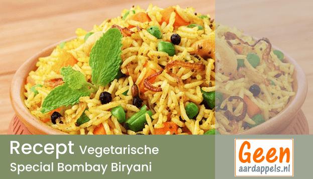 Recept: Vegetarische Special Bombay Biryani