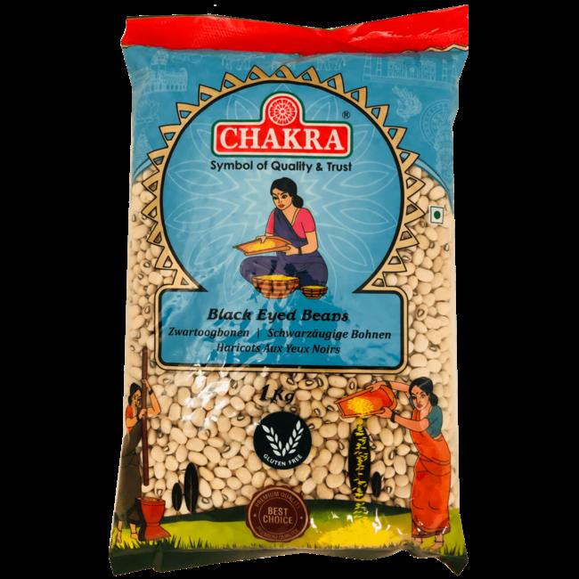Chakra Black Eyed Beans, 1 kg