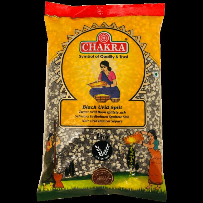 Chakra Black Urid Dhal Split, 1 kg