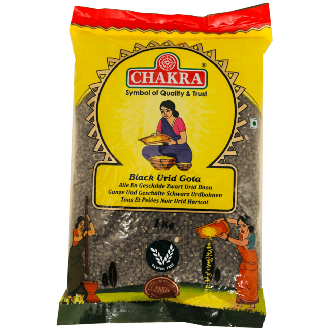 Chakra Black Urid Dhal Gota, 1 kg