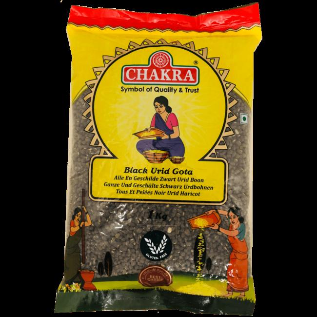 Chakra Black Urid Dhal Gota (Urid Boon), 1 kg