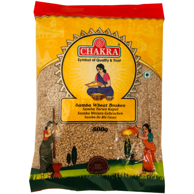 Chakra Samba Wheat Broken, 500 gr