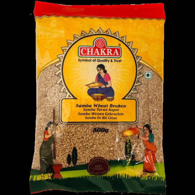 Chakra Samba Wheat Broken (Gebroken Tarwe), 500 gr