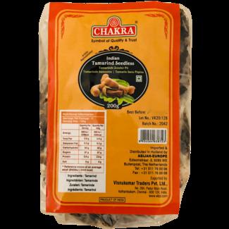 Chakra Tamarind Seedless, 200 gr