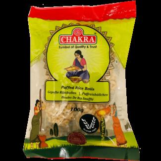 Chakra Puffed Rice Balls (Gepofte Rijstballen), 100 gr