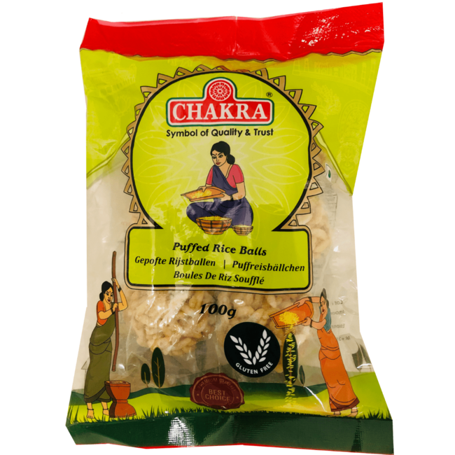Chakra Puffed Rice Balls, 100 gr