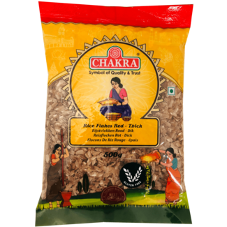 Chakra Rice Flakes Red Thick