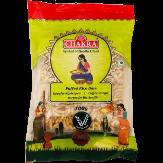 Chakra Puffed Rice Bars, 100 gr