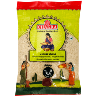 Chakra Jowar Rava, 500 gr