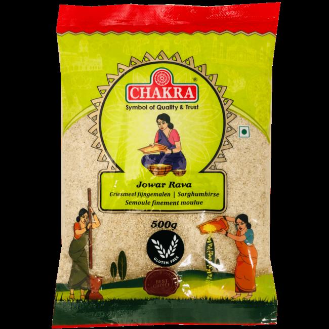 Chakra Jowar Rava (griesmeel), 500 gr