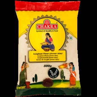 Chakra Sorghum Flour (Jowar Atta), 500 gr