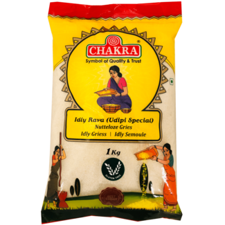 Chakra Idly Rava (Udipi Special), 1 kg