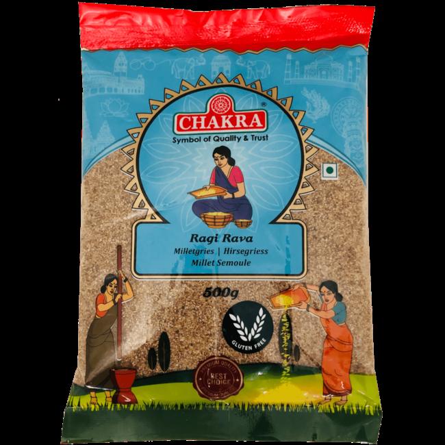 Chakra Ragi Rava, 500 gr