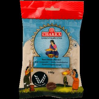 Chakra Red Onion Powder (Rode Ui Poeder), 100 gr