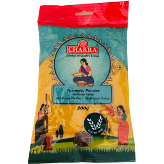 Chakra Turmeric Powder (Kurkuma Poeder)