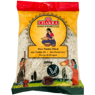 Chakra Rice Flakes Thick, 500 gr
