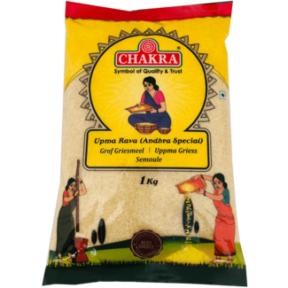 Chakra Upma Rava - Andhra Special, 1 kg