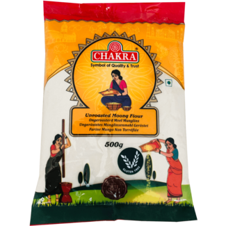 Chakra Unroasted Moong Flour, 500 gr