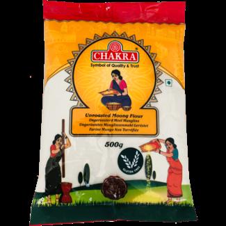 Chakra Unroasted Moong Flour (Linzen Meel), 500 gr