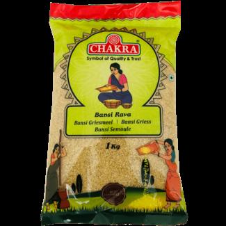 Chakra Bansi Rava (Grof Griesmeel), 1 kg